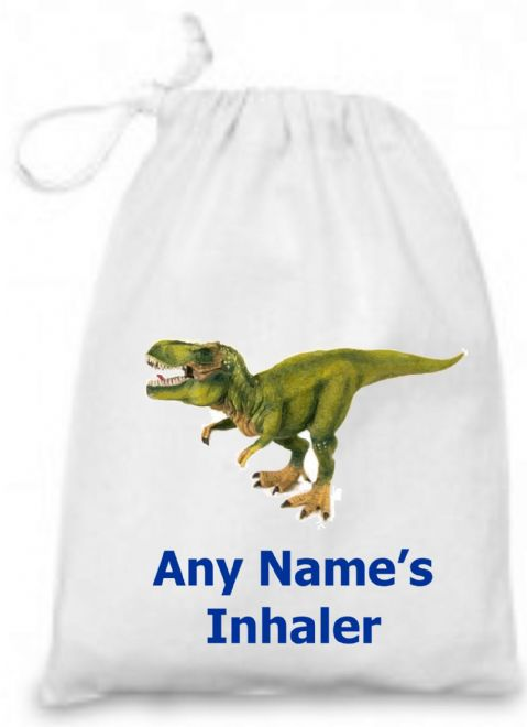 Dinosaur Medicine/Inhaler Bag